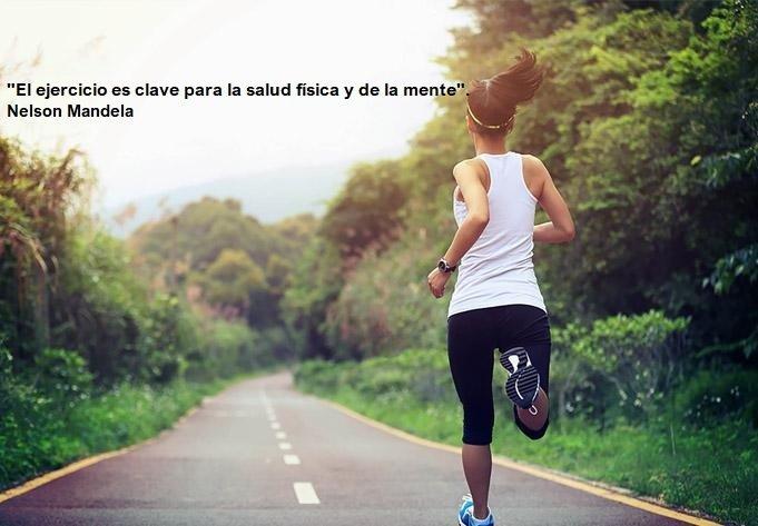 El ejercicio físico mantiene saludable tu cuerpo y tu mente
